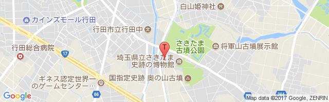 行田市斎場 地図